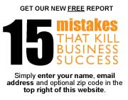 15 Mistakes that Kill Business Success